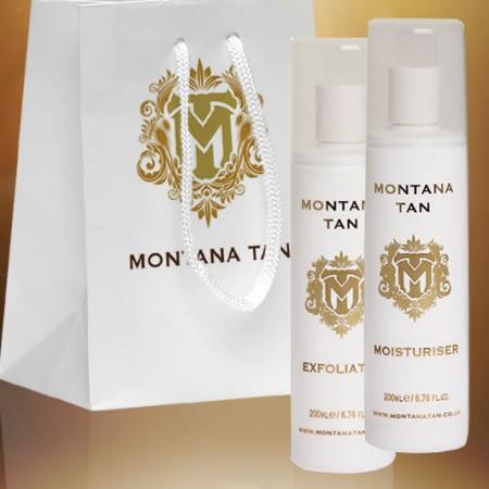 Montana Tan Exfoliator Gift Pack