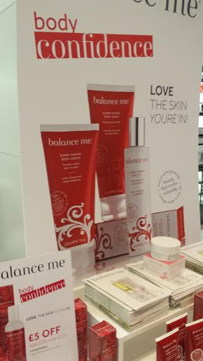 Balance Display at Debenham's Blogger Event