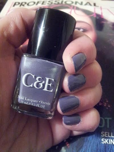 C&E Nail Lacquer in Wisteria