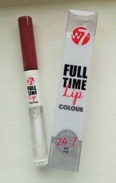 W7 lip colour