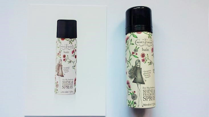 Percy & Reed Shine and fragrance spray2