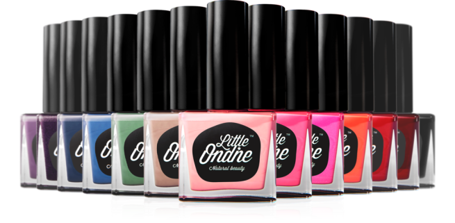 Little Ondine brilliant nail colours