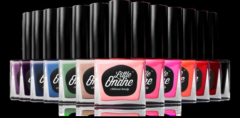 Little Ondine brilliant nail colours