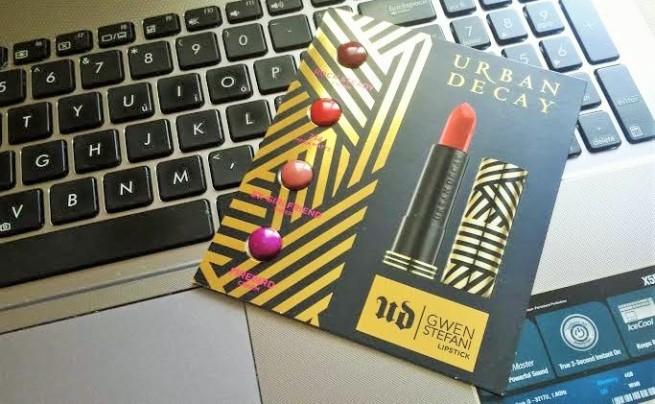 GwenStefani Urban Decay Lipstick