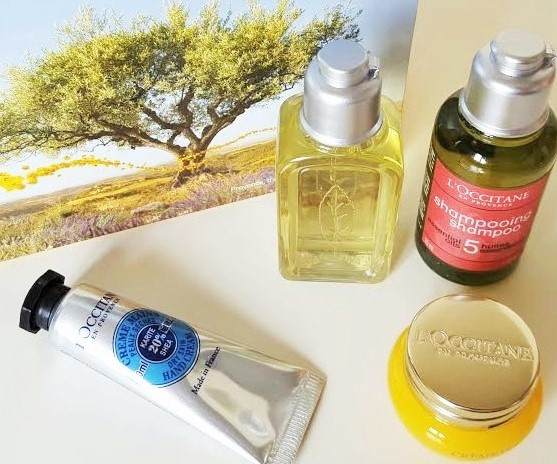 L'Occitane trial sizes (2)