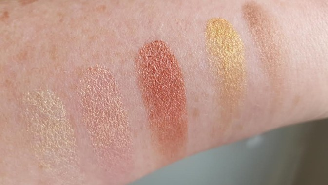 after dark swatches top row