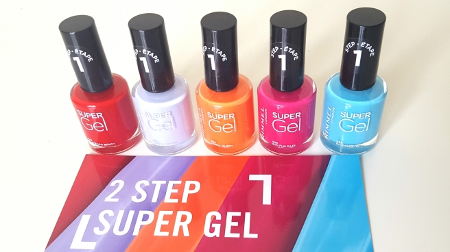 Rimmel 2 Step Super Gel Beach Ready Collection