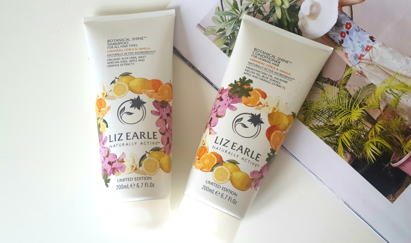 Geranium Citrus & Vanilla Shampoo & Conditioner