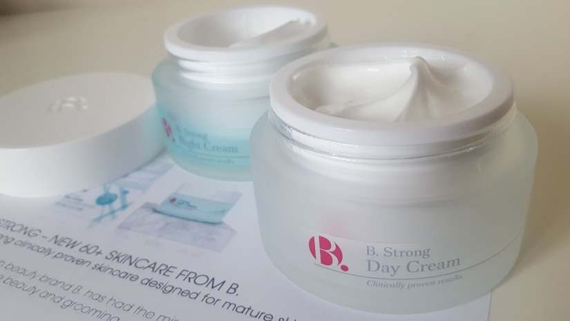 B. Strong day and night creams