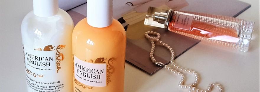American English shampoo and conditioner