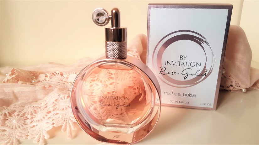By INvitation Rose Gold Fragrance by Michael Buble