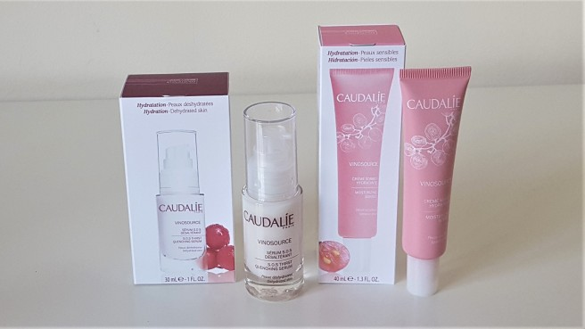 Caudalie Serum and Sorbet