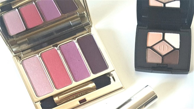 Clarins and Dior Palettes