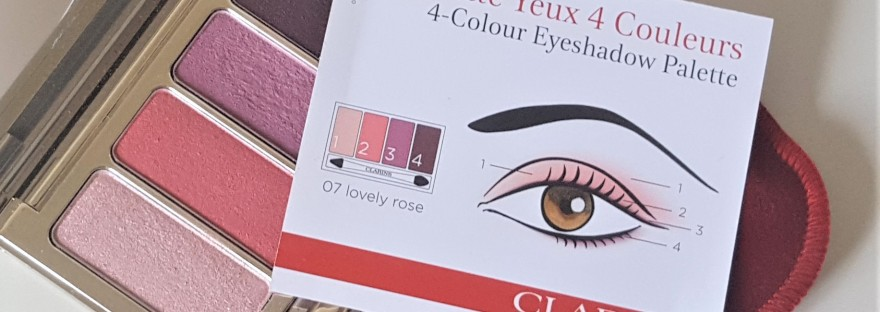 Clarins Lovely Rose shade card