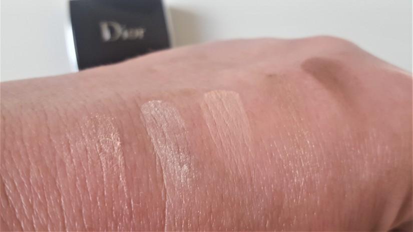Dior Mini Palette Swatches