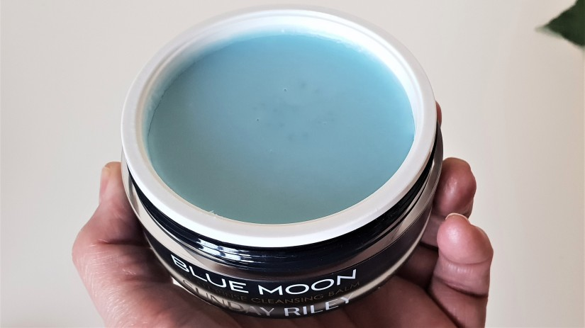 Blue Moon Cleansing Balm Open