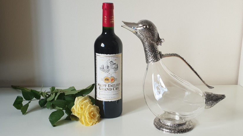 Newbridge Silver Duck Decanter