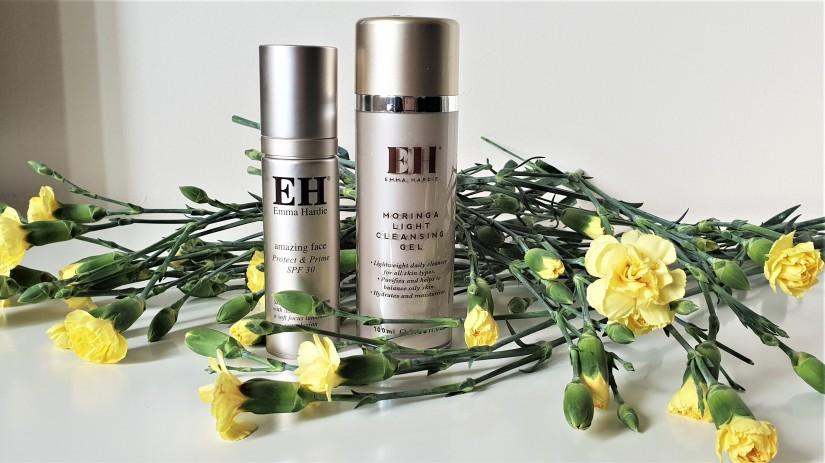 Emma Hardie Moringa LIght Cleansing Gel & Amazing Face Protect & Prime SPF30