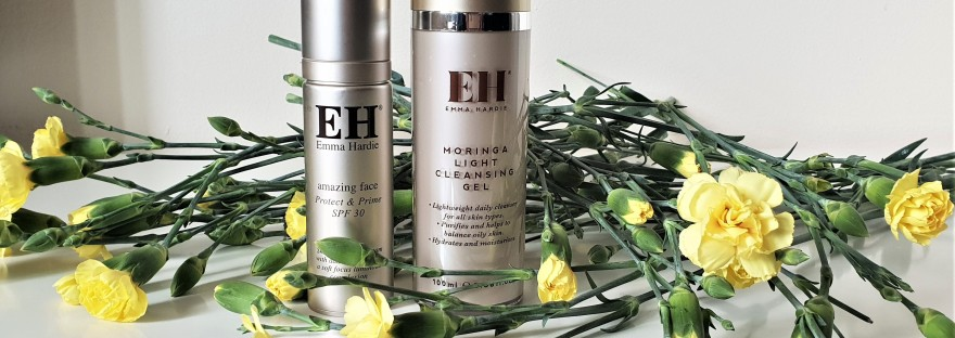 Emma Hardie Moringa LIght Cleansing Gel & Amazing Face Protect & Prime SPF30