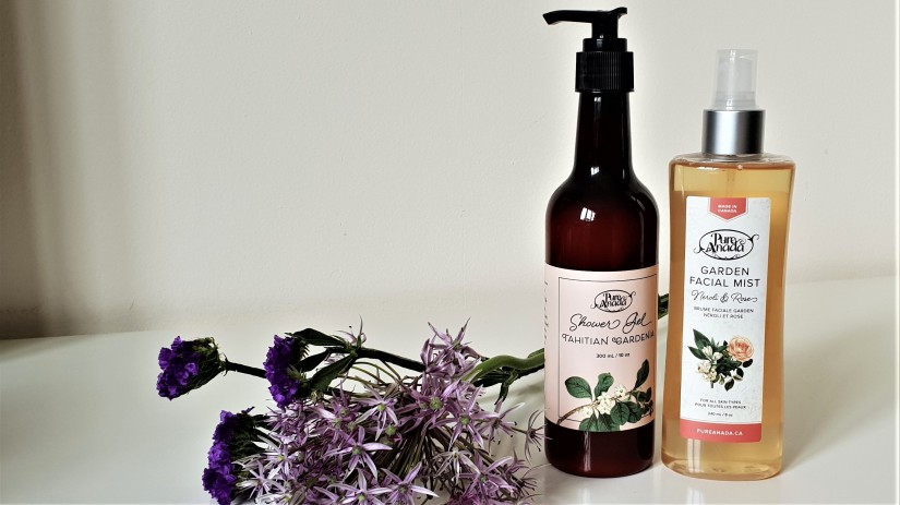 Pure Anada Tahitian Garden Shower Gel & Garden Facial Mist